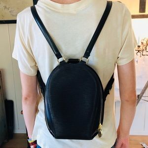 ♥️ Louis Vuitton ♥️ Black Epi Backpack